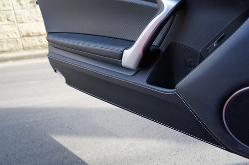 Revel Silver Door Kick Guard for Scion FR-S Subaru BRZ