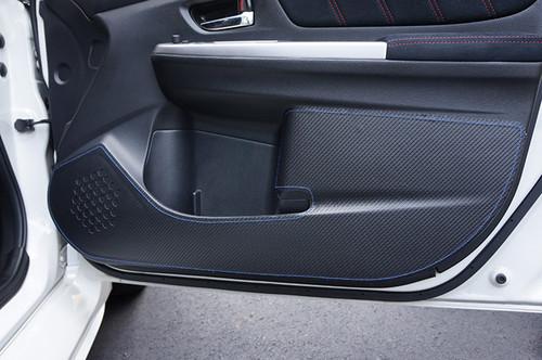 Revel Blue Door Kick Guard for Subaru WRX/STI '16-'19