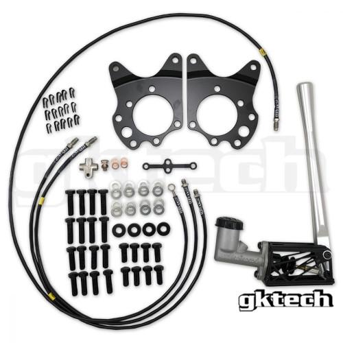 GKtech Hydraulic E-Brake Setup for Nissan 350Z/370Z
