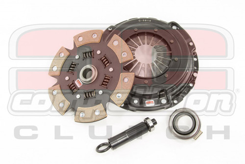 Competition Clutch - Nissan 240SX White Bunny Upgrade - 6 Puck KA24DE w/ Performance Pressure Plate