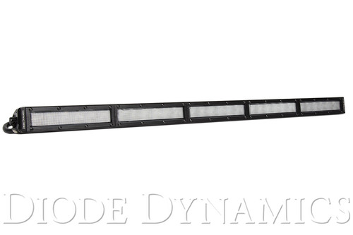 Diode Dynamics 30 Inch LED Light Bar  Single Row Straight Clear Flood Each Stage Series