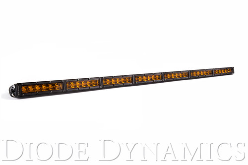 Diode Dynamics 42 Inch LED Light Bar  Single Row Straight Amber Driving Each Stage Series