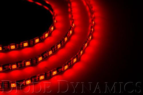 Diode Dynamics LED Strip Lights Red 100cm Strip SMD100 WP