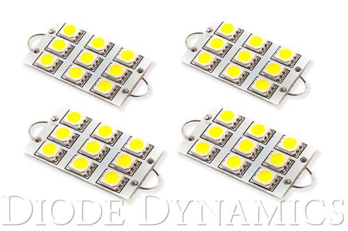 Diode Dynamics 44mm SML9 LED Bulb Cool White Set of 4