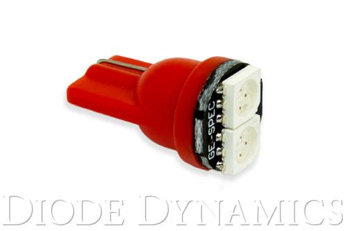 Diode Dynamics 194 LED Bulb SMD2 LED Red Single