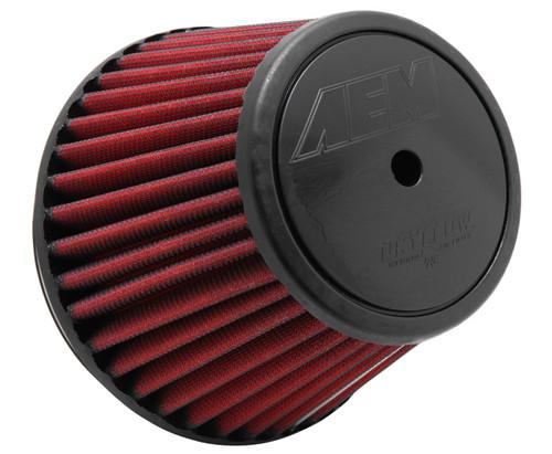 AEM Dryflow Air Filters Dryflow Air Filter; w/ Hole For Ait Sensor [Universal]