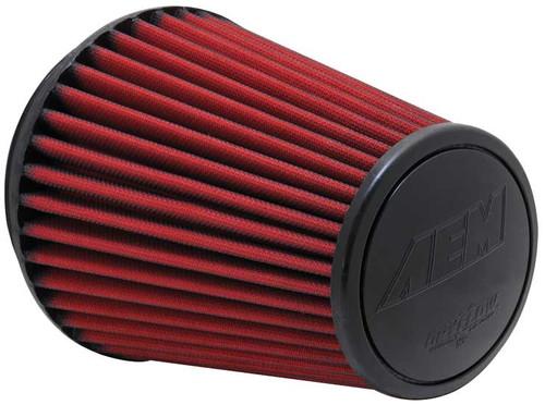 AEM Dryflow Air Filters Dryflow Air Filter; Short Neck [Universal]