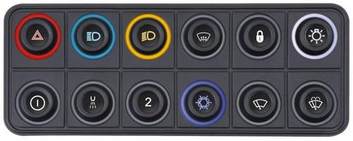 ECUMaster CAN Keyboard - 12 Position