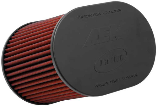 AEM Dryflow Air Filters Dryflow HD Filter; Oval [Universal]