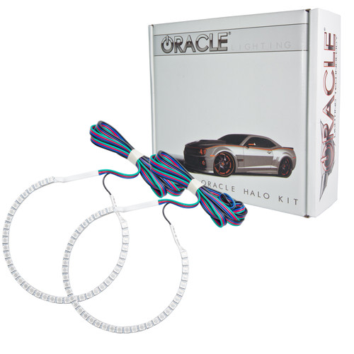 Ford Mustang 2010-2012 ORACLE ColorSHIFT Halo Kit - Projector