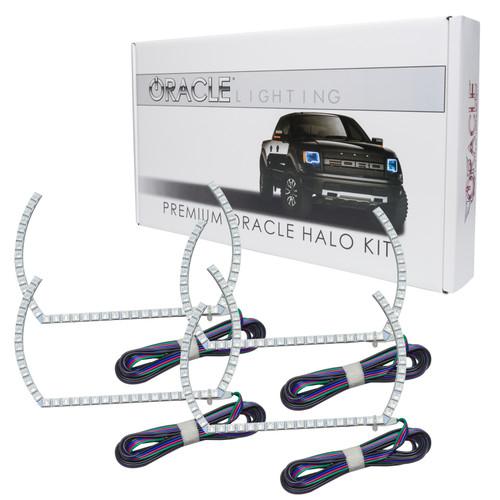 Chevrolet Silverado 2014-2015 ORACLE ColorSHIFT Halo Kit Projector Style