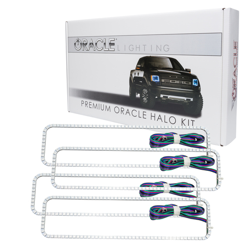 Oracle Lighting Chevrolet Suburban 1992-1999 ORACLE ColorSHIFT Dual Halo Kit