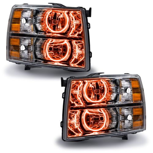 Oracle Lighting 2007-2013 Chevrolet Silverado CCFL HL - Round Style