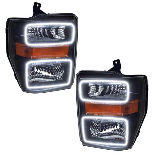 Oracle Lighting 2008-2010 Ford F250/350 LED HL - Black
