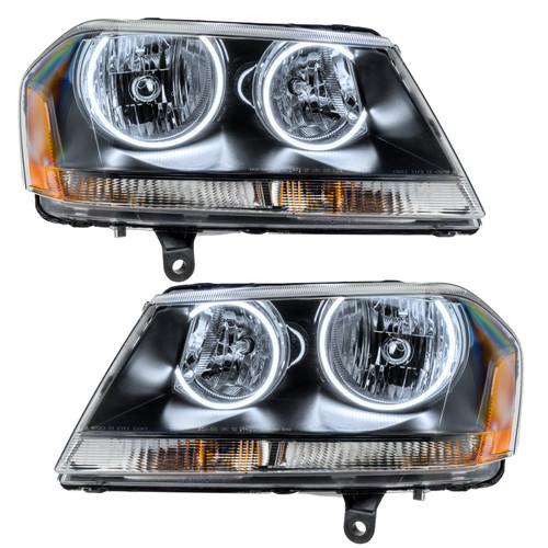 Oracle Lighting 2008-2014 Dodge Avenger RT PLASMA HL - Black