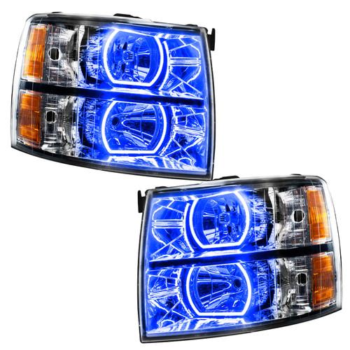 Oracle Lighting 2007-2013 Chevrolet Silverado PLASMA HL - Square Style