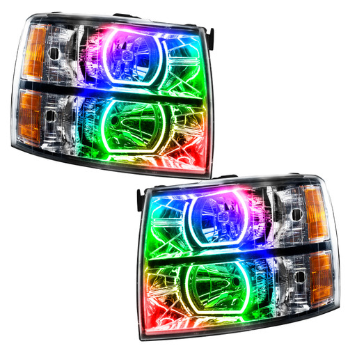 Oracle Lighting 2007-2013 Chevrolet Silverado SMD HL - Square Style
