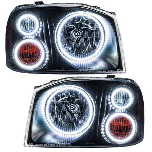 Oracle Lighting 2001-2004 Nissan Frontier SMD HL - Triple Halo