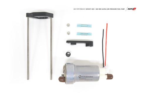 AMS Performance Q50 Q60 Red Alpha Low Pressure Fuel Pump Upgrade