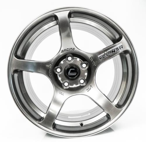 Cosmis Racing N5R Hyper Black Wheel 17x9 +15 5x114.3