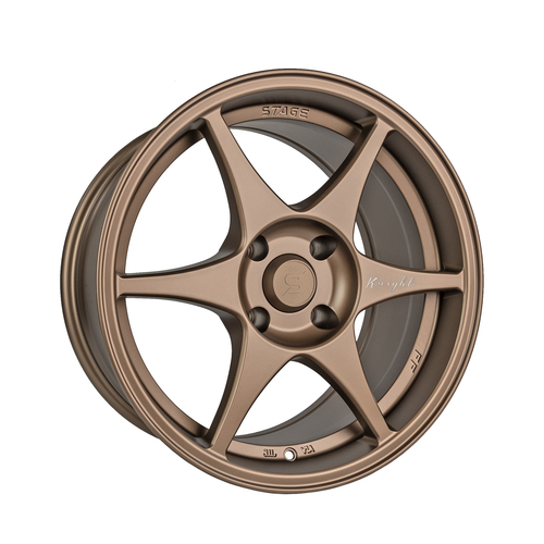 Stage Wheels Knight 17x9 +10mm 4x114.3 CB: 73.1 Color: Matte Bronze