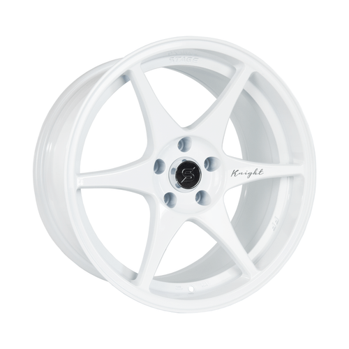 Stage Wheels Knight 18x9.5 +22mm 5x114.3 CB: 73.1 Color: White
