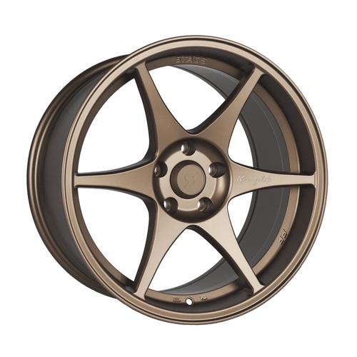 Stage Wheels Knight 18x9.5 +22mm 5x120 CB: 74.1 Color: Matte Bronze
