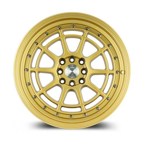 Aodhan Wheels AH04 15x8 4x100/114.3 +20 Full Gold