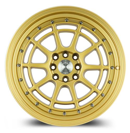 Aodhan Wheels AH04 16x8 4x100/114.3 +15 Full Gold