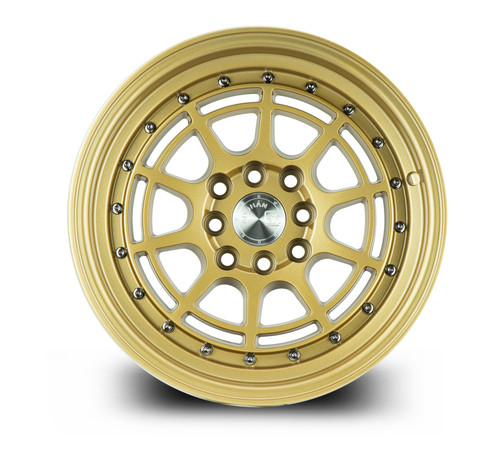 Aodhan Wheels AH04 17x9 4x100/114.3 +25 Full Gold