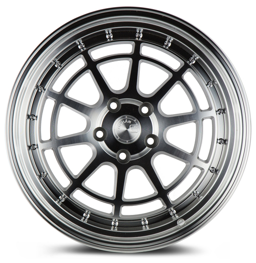 Aodhan Wheels AH04 18x10.5 5x100 +30 Silver Machined Face And Lip