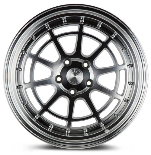 Aodhan Wheels AH04 18x10.5 5x114.3 +25 Silver Machined Face And Lip