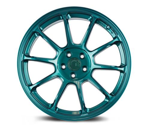 Aodhan Wheels AH06 18x9 5X100 +30 Teal