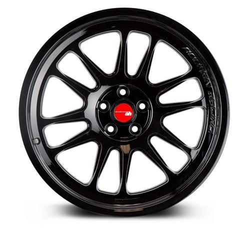 Aodhan Wheels AH07 18x8.5 5x100 +35 Full Gloss Black