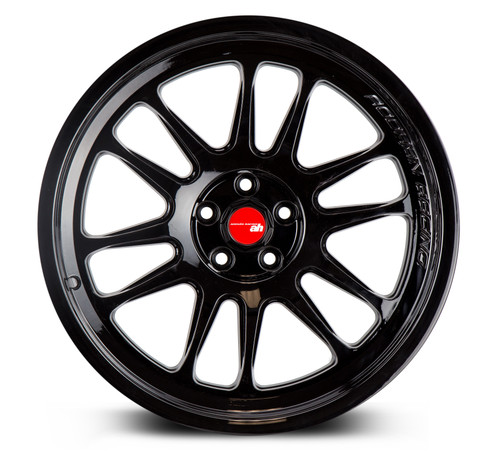 Aodhan Wheels AH07 18x8.5 5x114.3 +35 Full Gloss Black