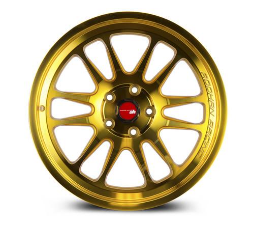 Aodhan Wheels AH07 18x8.5 5x100 +35 Gold Machined Face