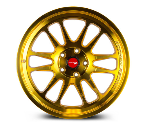 Aodhan Wheels AH07 18x9.5 5x100 +30 Gold Machined Face
