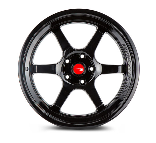 Aodhan Wheels AH08 18x8.5 5x100 +35 Full Gloss Black