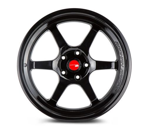 Aodhan Wheels AH08 18x8.5 5x114.3 +35 Full Gloss Black