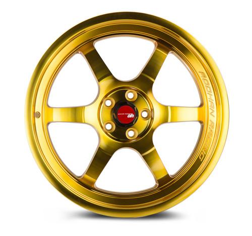 Aodhan Wheels AH08 18x9.5 5x100 +30 Gold Machined Face