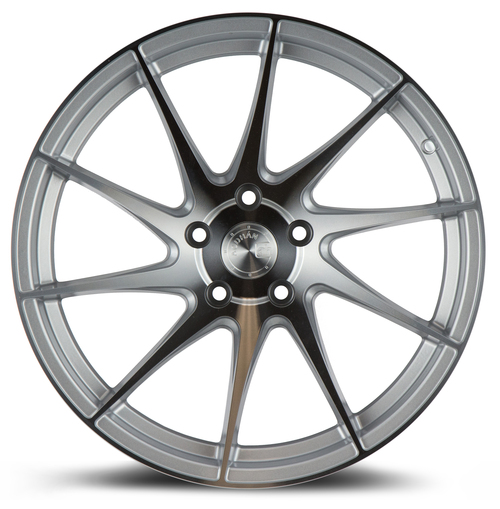 Aodhan Wheels AH09 18x8.5 (Driver Side) 5x112 +35 Gloss Silver Machined Face