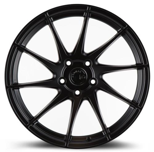 Aodhan Wheels AH09 18x9.5 (Driver Side) 5x112 +35 Matte Black