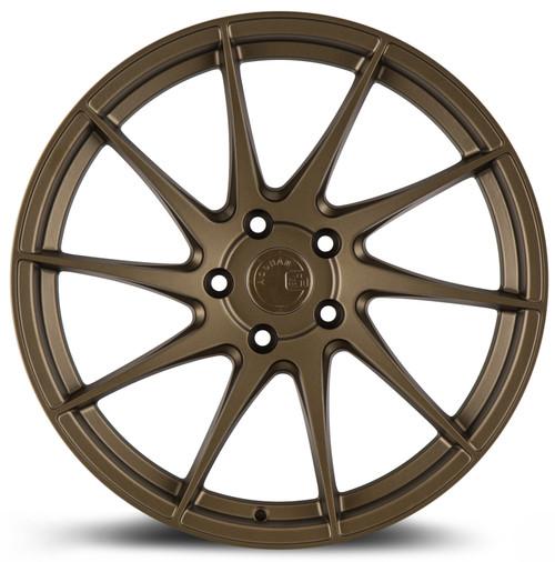 Aodhan Wheels AH09 18x8.5 (Driver Side) 5x100 +35 Matte Bronze