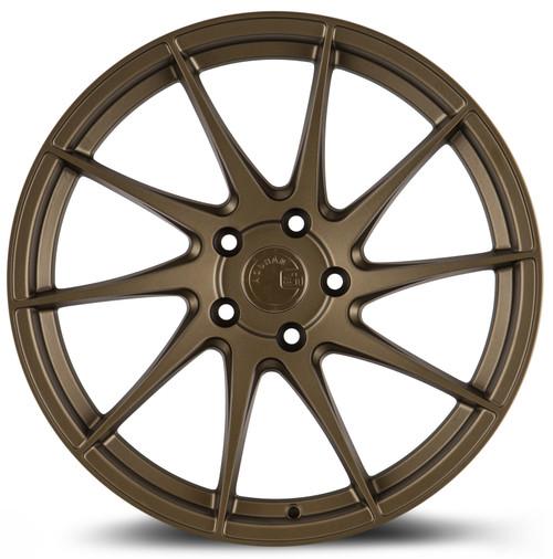Aodhan Wheels AH09 18x8.5 (Passenger Side) 5x112 +35 Matte Bronze