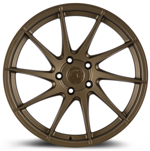 Aodhan Wheels AH09 18x8.5 (Driver Side) 5x114.3 +35 Matte Bronze