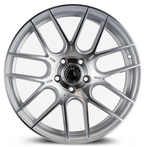 Aodhan Wheels AH-X 18x8.5 5x112 +35 Gloss Silver Machined Face
