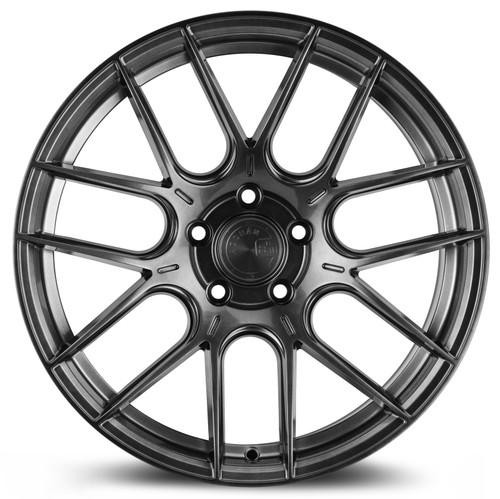 Aodhan Wheels AH-X 18x9.5 5x112 +35 Hyper Black