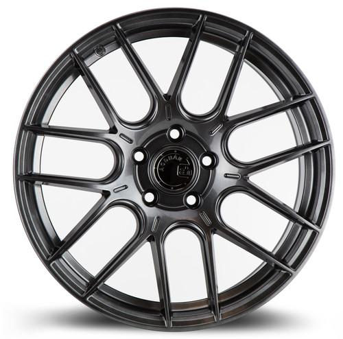 Aodhan Wheels AH-X 18x8.5 5x114.3 +35 Hyper Black