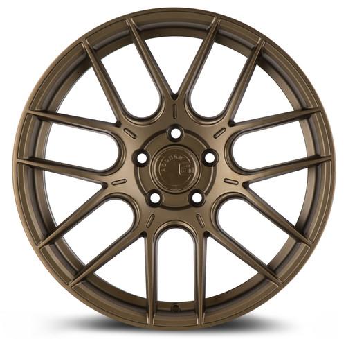 Aodhan Wheels AH-X 18x9.5 5x114.3 +35 Matte Bronze