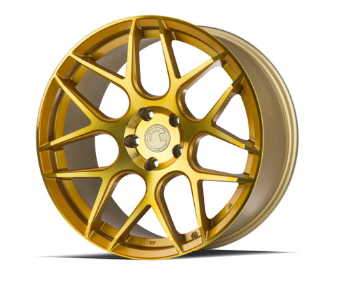 Aodhan Wheels LS002 19x9.5 5x120 +35 Gold Machined Face